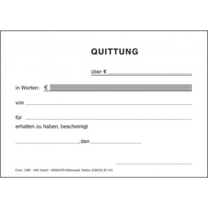 Quittung 1090