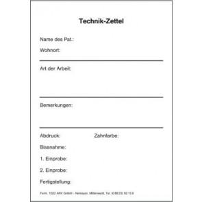 Technikzettel 1022